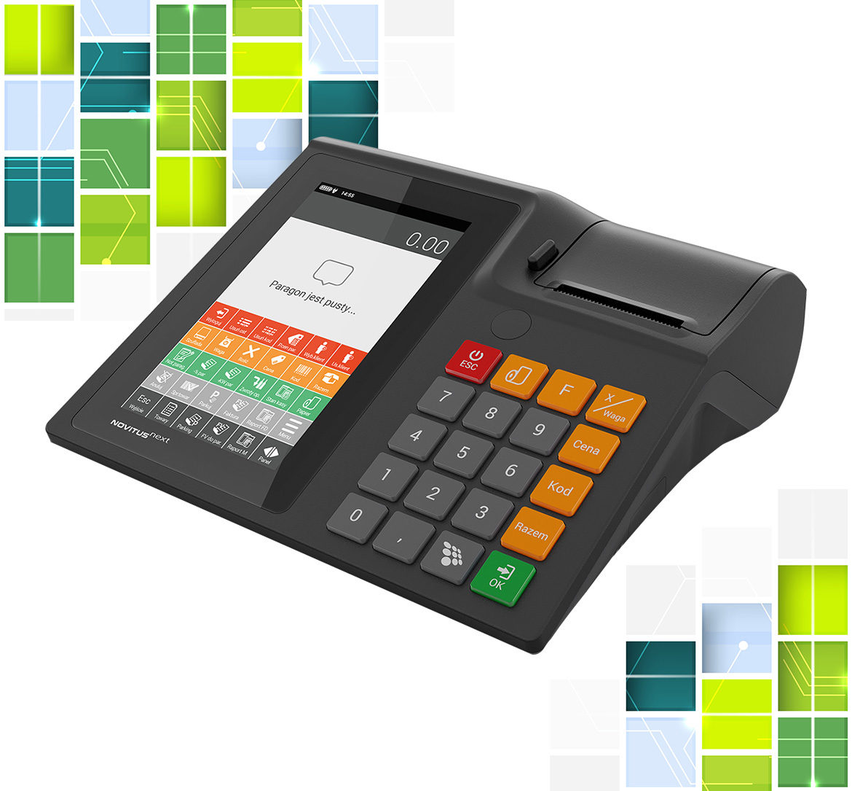 Novitus - innowacyjne i różnorodne kasy rejestrujące