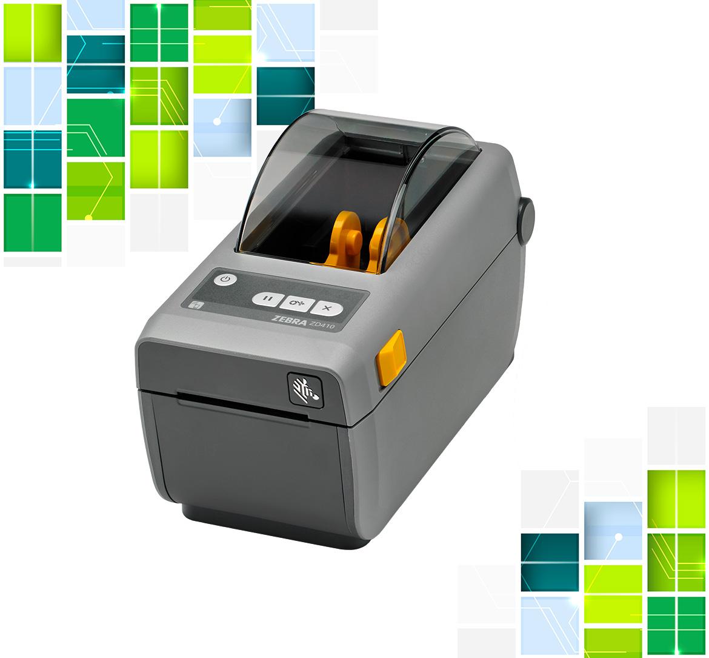 Biurowa drukarka etykiet Zebra
